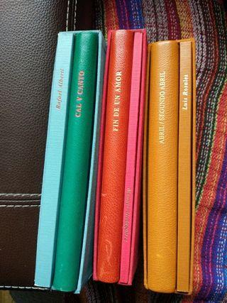 Libros poesia colección