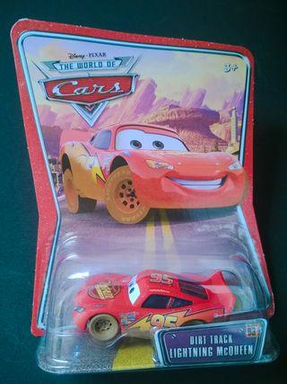 Coche Dirt Track McQueen de Cars Disney Pixar