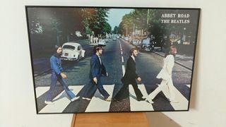 Coleccion Beatles, juego de tazas y cuadro