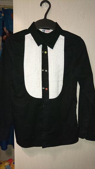 Camisa de niño manga larga