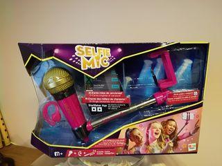 Selfie microfono