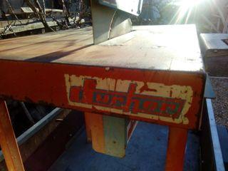 mesa corte madera