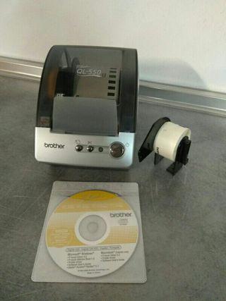 Impresora de pegatinas BROTHER