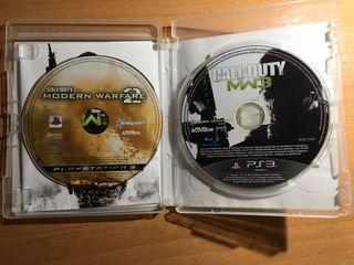 pack COD modern warfare 2 y 3. ps3