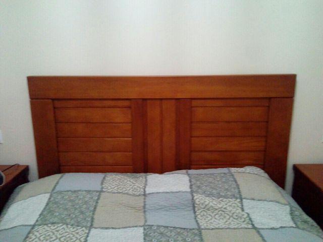 Cabecero cama y mesitas de noche de segunda mano por 330 en sevilla en wallapop - Cabeceros y mesitas de noche ...