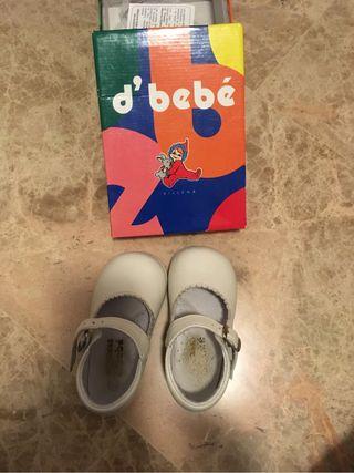 Zapatos niña talla 19