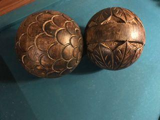 Bolas madera maziza