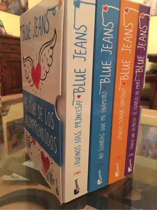 Pack libros Blue Jeans