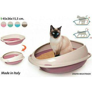 cama arena gato