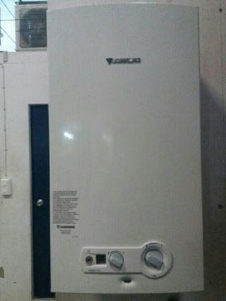 calentadores de gas de 11 y 14 litros