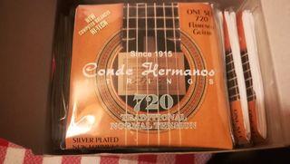 Cuerdas de guitarra Conde Hermanos