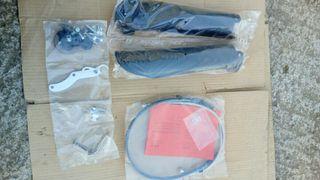 Latiguillos metalicos de freno KTM y protecciones