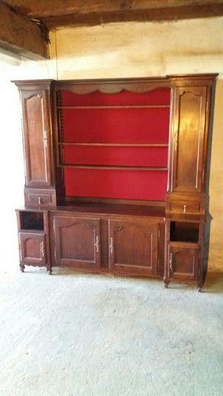 Mueble alacena antiguo rustico vintage.