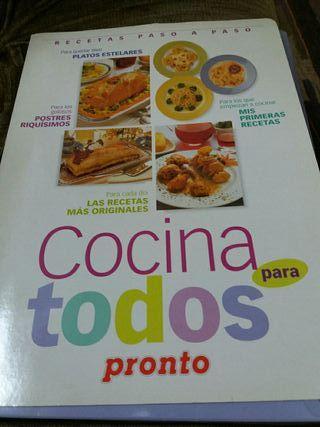 Libro,Cocina para todos