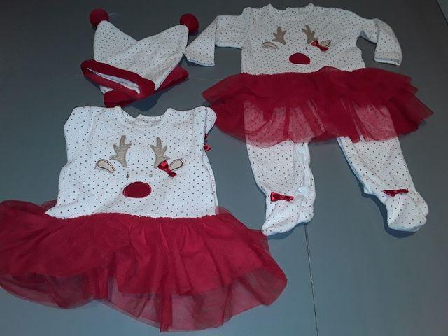 navidad gemelas mellizas fotos