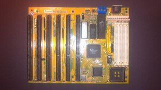 Placa madre ordenador 386 AMD
