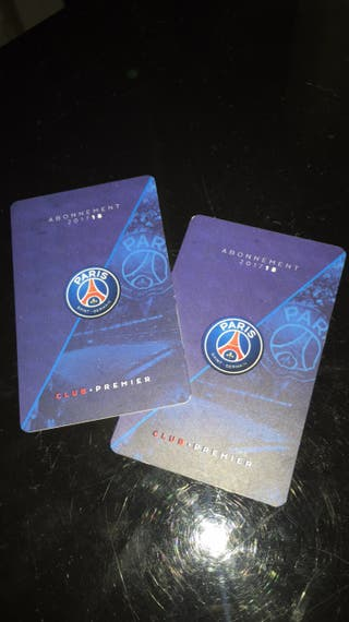 2 places PSG - Real