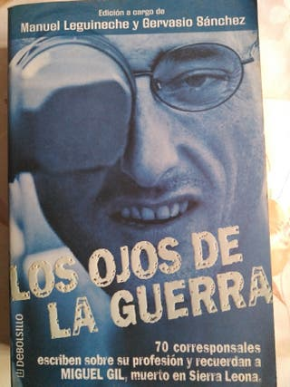 Libro lectura. Periodismo de guerra
