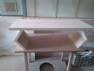 mesa baja decorativa