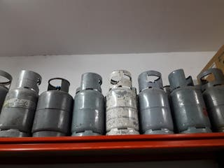 Botellas gas refrigerante