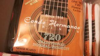 Cuerdas guitarra CondeHermanos 45 juegos completos