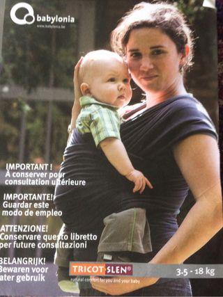 Babylonia tricot-slen-Fular porta bebé