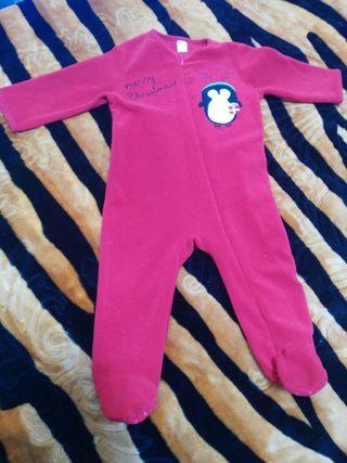pijama polar bebe 18 meses unisex