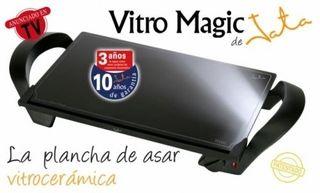 Plancha asar vitrocerámica Jata Vitro Magic GR1.