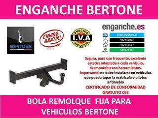 ENGANCHE BERTONE BOLA REMOLQUE