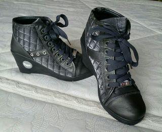playero bota de mujer