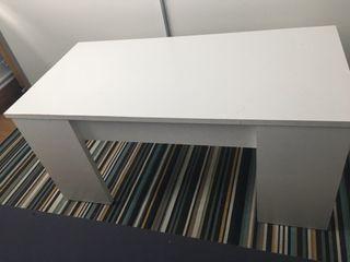 Mesa abatible blanca