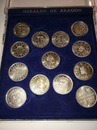 replicas de monedas en plata