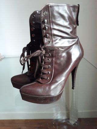 Botines de lujo. Pura Lopez. 37. nuevos. zapatos.