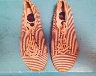 Zapatillas de esparto y tela