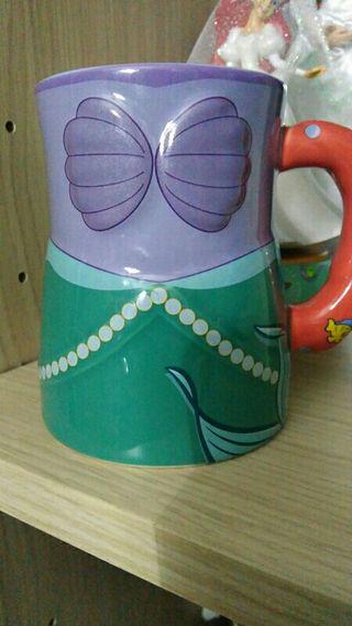 taza disney de la sirenita