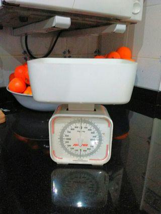 báscula cocina