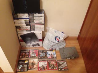 Ps3 + Ps2 + Ps1 Sony Playstation