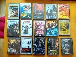Pack de 15 Películas dvd