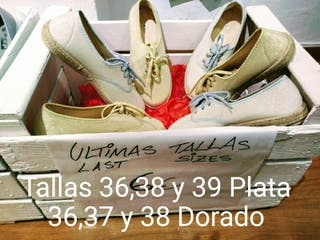 Zapatillas lona Mujer/Niña ideales para primavera