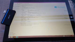 Surface pro 3 + funda + extension puertos