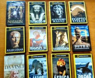 Documentales pack 12 DVD de National Geographic