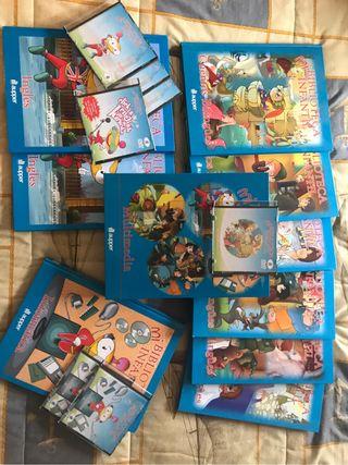 Colección biblioteca infantil aprender inglés