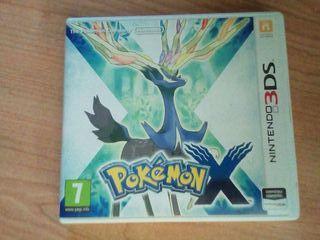 Pokemon X. Nintendo 3DS
