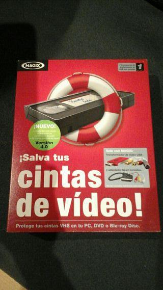 Aparato para convertir tu mismo cintas video a dvd