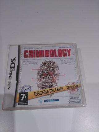 Criminologia para nintendo 3DS