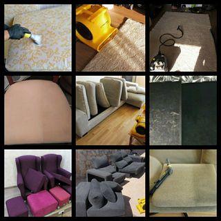 Limpieza y secado express de sofás a domicilio