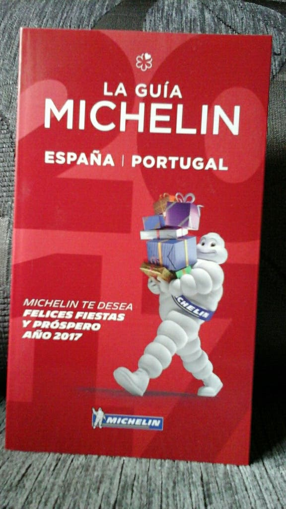guia michelin España-Portugal 2017