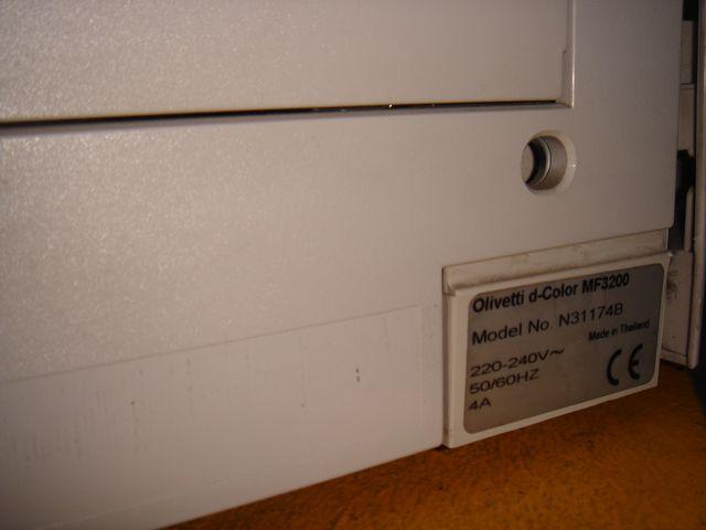 Olivetti D-color mf3200 fotocopiadora impresora