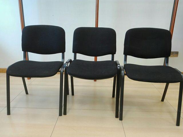 Sillas oficina de segunda mano por 30 € en Elexalde - wallapop