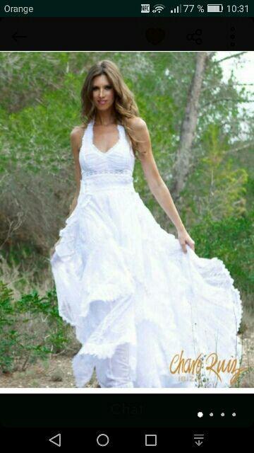 vestido novia charo ruiz de segunda mano por 1.000 € en la cañada en